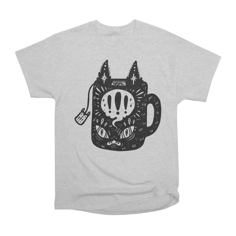 Mug of Tea Women's Heavyweight Unisex T-Shirt by Haypeep's Artist Shop