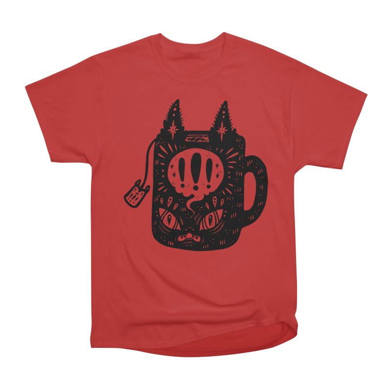 Mug of Tea Men's Heavyweight T-Shirt by Haypeep's Artist Shop