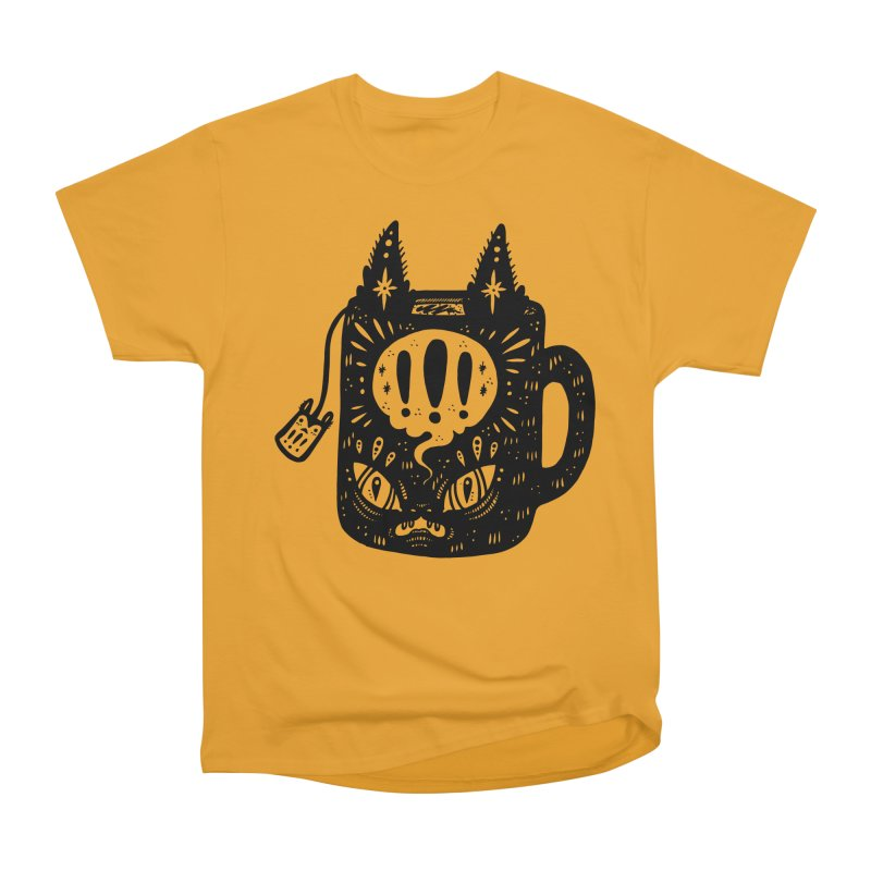 Mug of Tea Women's Heavyweight Unisex T-Shirt by Haypeep's Artist Shop