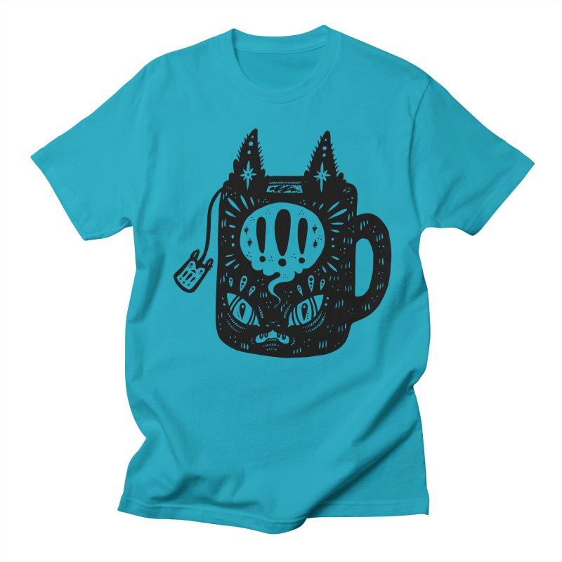 Mug of Tea Men's Regular T-Shirt by Haypeep's Artist Shop