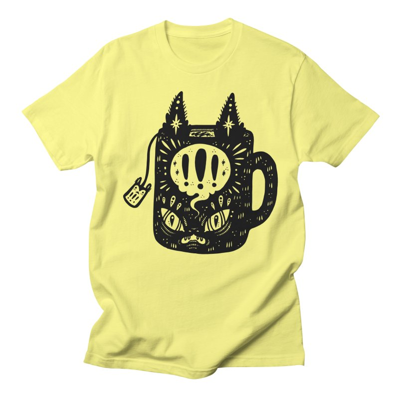 Mug of Tea Men's Regular T-Shirt by Haypeep's Artist Shop