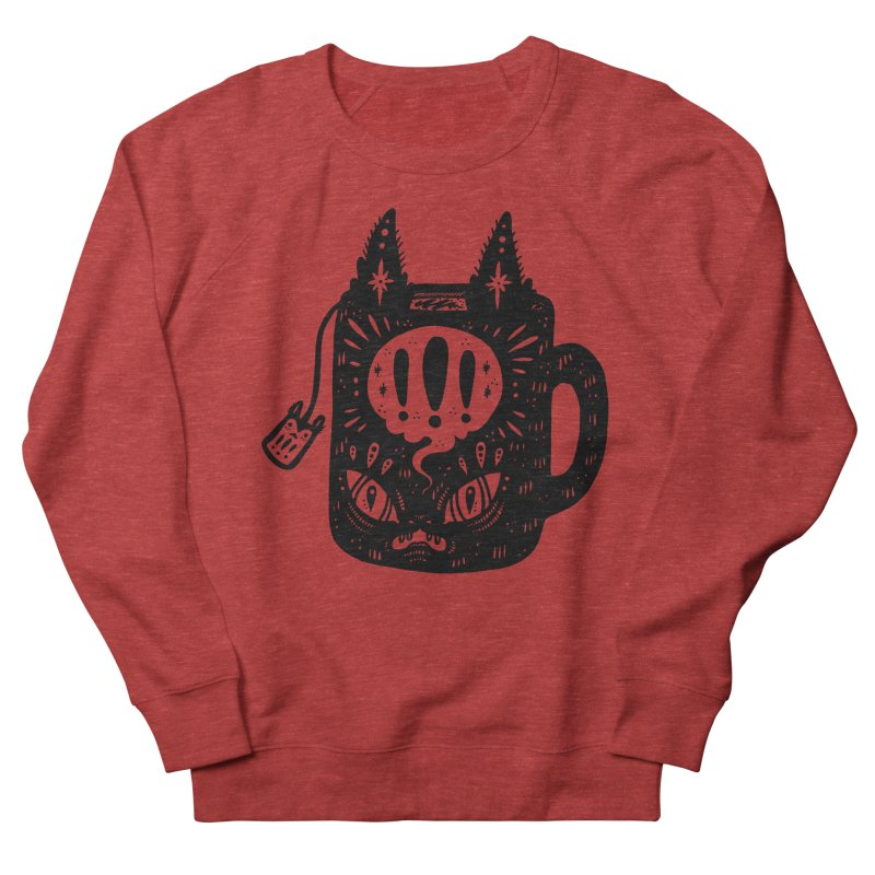 Mug of Tea Women's French Terry Sweatshirt by Haypeep's Artist Shop