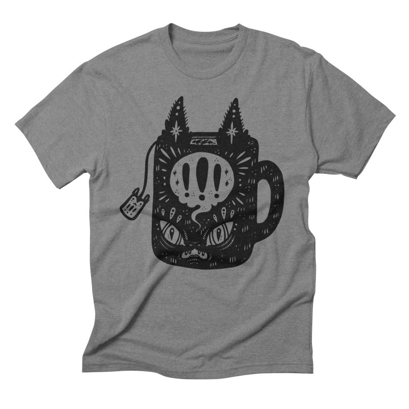 Mug of Tea Men's Triblend T-Shirt by Haypeep's Artist Shop
