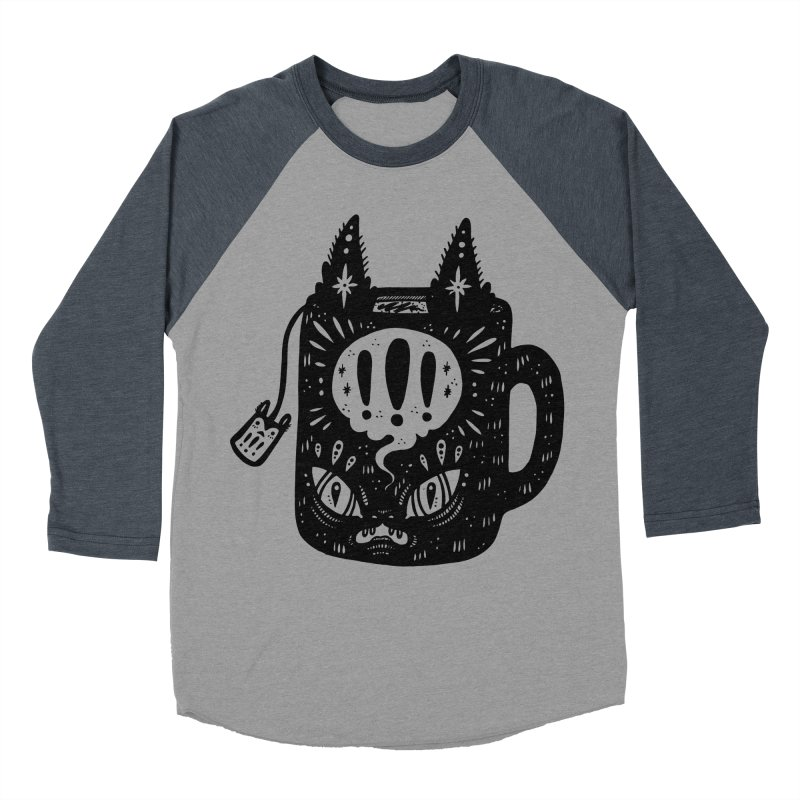 Mug of Tea Women's Baseball Triblend Longsleeve T-Shirt by Haypeep's Artist Shop