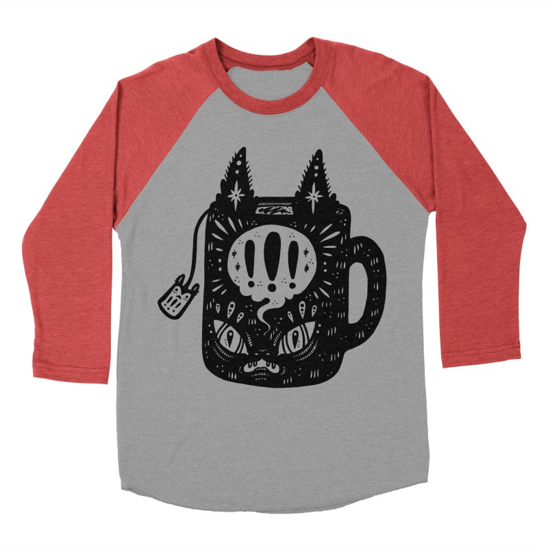 Mug of Tea Men's Baseball Triblend Longsleeve T-Shirt by Haypeep's Artist Shop