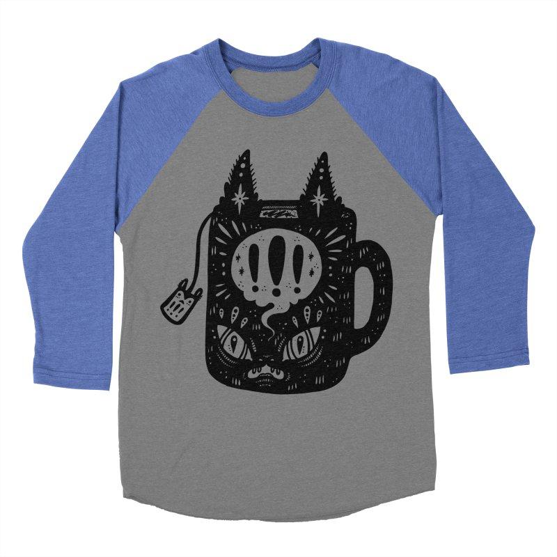 Mug of Tea Men's Baseball Triblend Longsleeve T-Shirt by Haypeep's Artist Shop