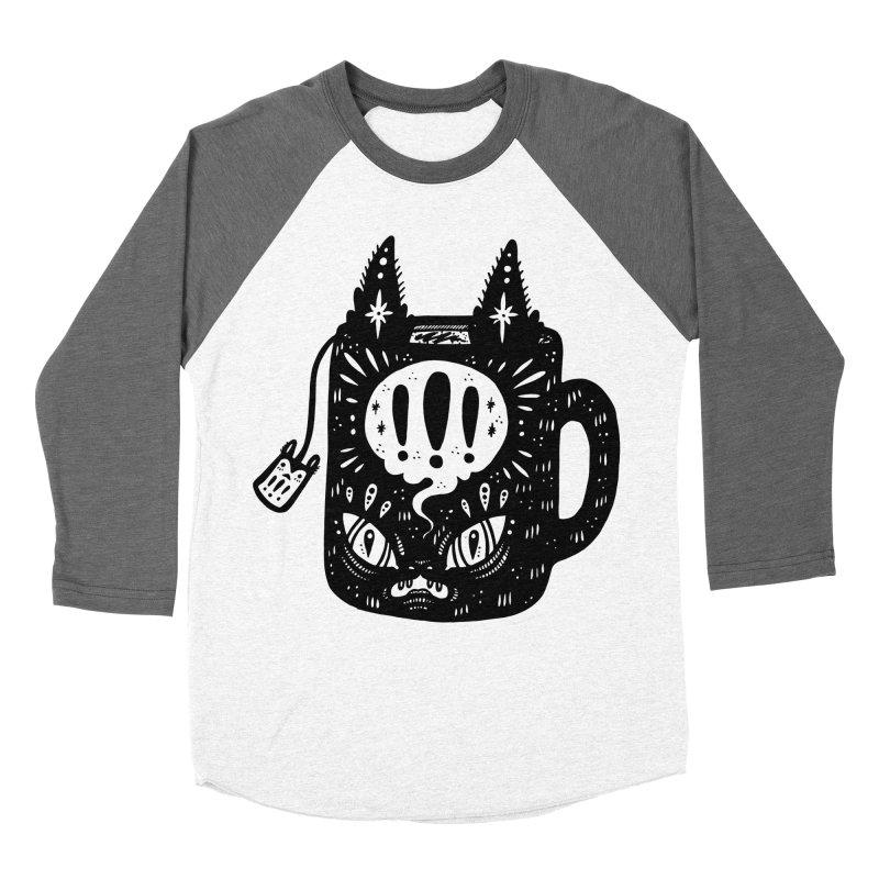 Mug of Tea Men's Baseball Triblend T-Shirt by Haypeep's Artist Shop