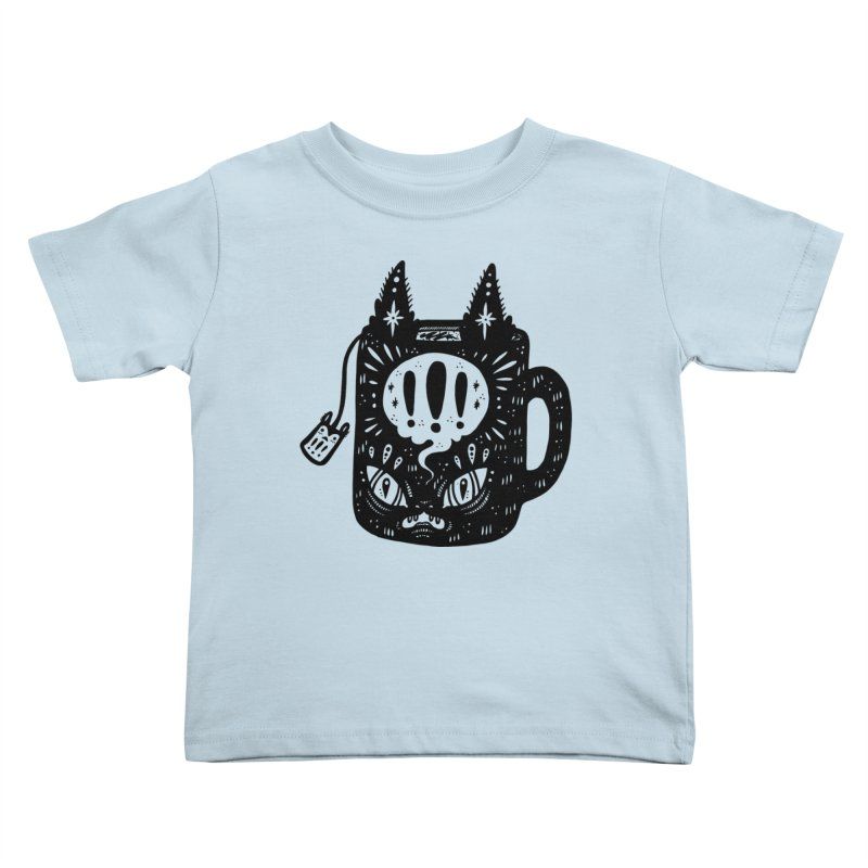 Mug of Tea Kids Toddler T-Shirt by Haypeep's Artist Shop