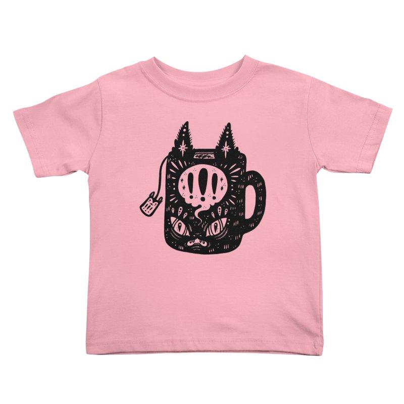 Mug of Tea Kids Toddler T-Shirt by Haypeep's Artist Shop