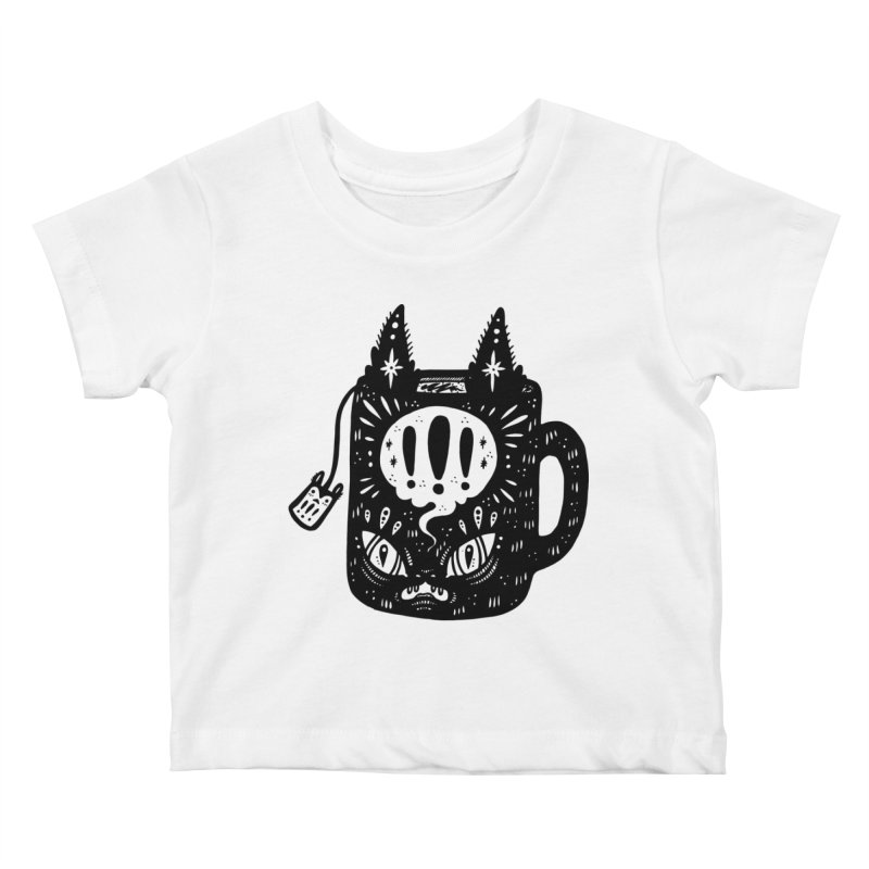 Mug of Tea Kids Baby T-Shirt by Haypeep's Artist Shop