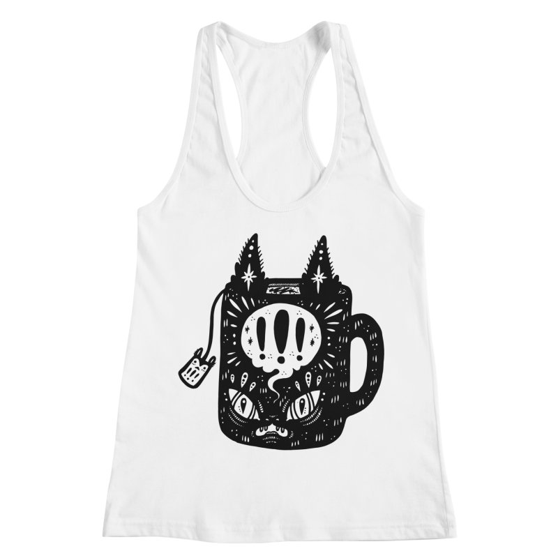 Mug of Tea Women's Racerback Tank by Haypeep's Artist Shop