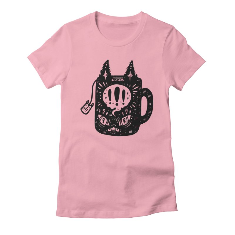 Mug of Tea Women's Fitted T-Shirt by Haypeep's Artist Shop