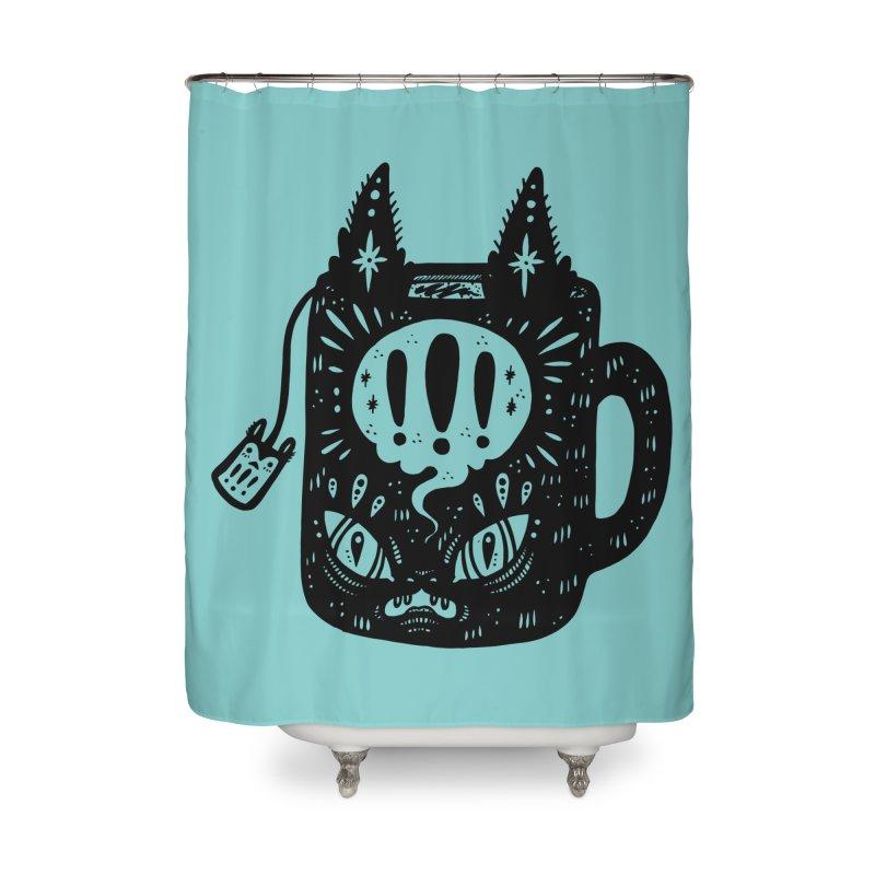 Mug of Tea Home Shower Curtain by Haypeep's Artist Shop