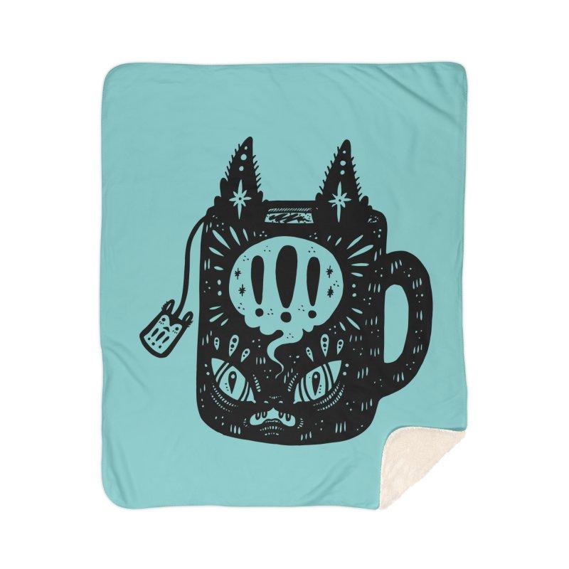 Mug of Tea Home Sherpa Blanket Blanket by Haypeep's Artist Shop