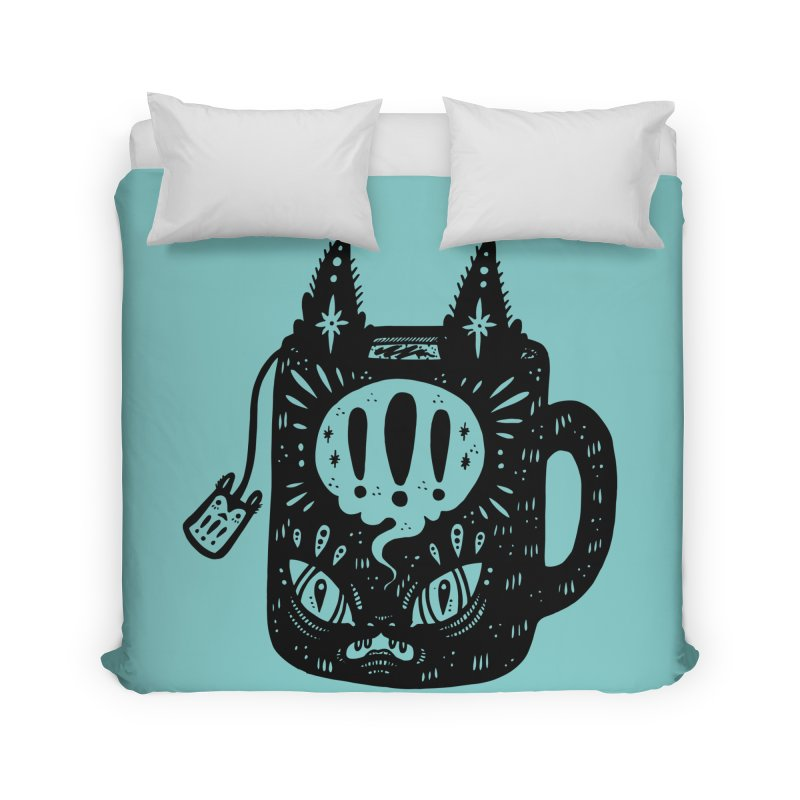 Mug of Tea Home Duvet by Haypeep's Artist Shop