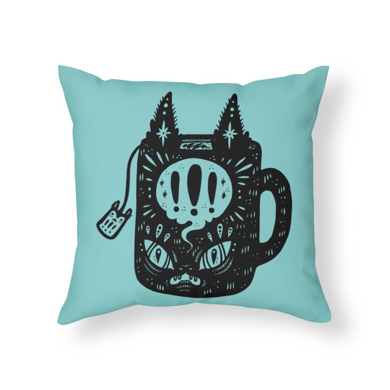 Mug of Tea Home Throw Pillow by Haypeep's Artist Shop