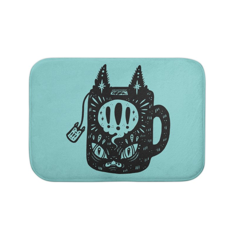 Mug of Tea Home Bath Mat by Haypeep's Artist Shop