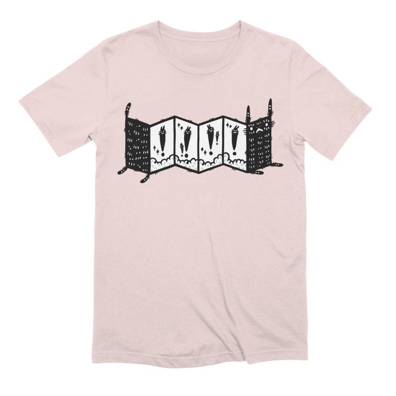 Accordion Zine Buddy Men's Extra Soft T-Shirt by Haypeep's Artist Shop