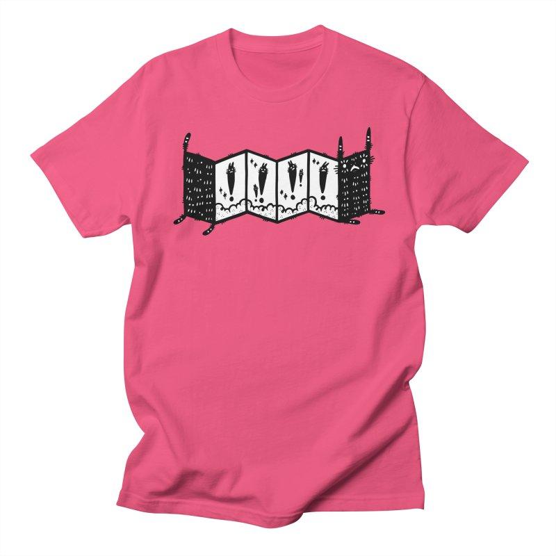 Accordion Zine Buddy Men's Regular T-Shirt by Haypeep's Artist Shop