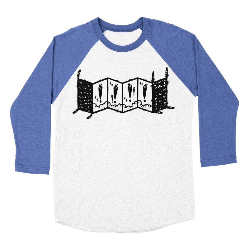 Accordion Zine Buddy Women's Baseball Triblend Longsleeve T-Shirt by Haypeep's Artist Shop