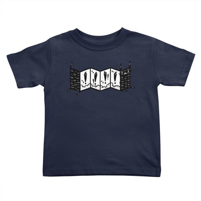 Accordion Zine Buddy Kids Toddler T-Shirt by Haypeep's Artist Shop