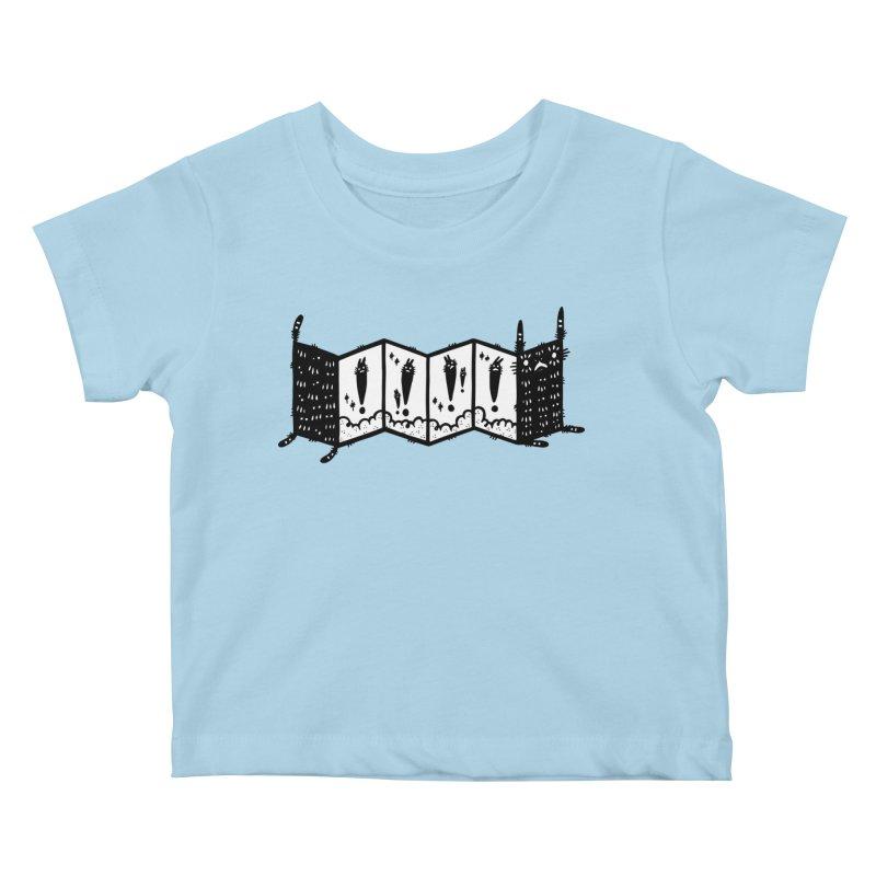 Accordion Zine Buddy Kids Baby T-Shirt by Haypeep's Artist Shop