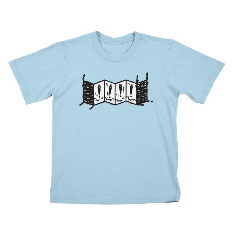 Accordion Zine Buddy Kids T-Shirt by Haypeep's Artist Shop