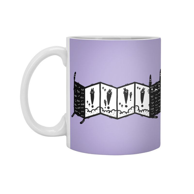 Accordion Zine Buddy Accessories Standard Mug by Haypeep's Artist Shop