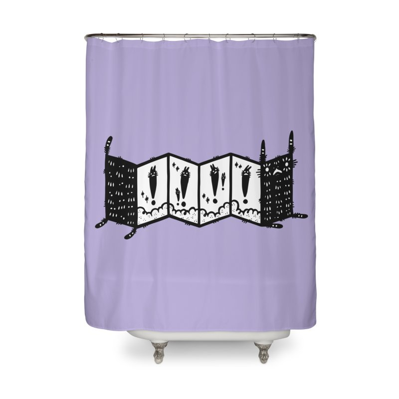 Accordion Zine Buddy Home Shower Curtain by Haypeep's Artist Shop