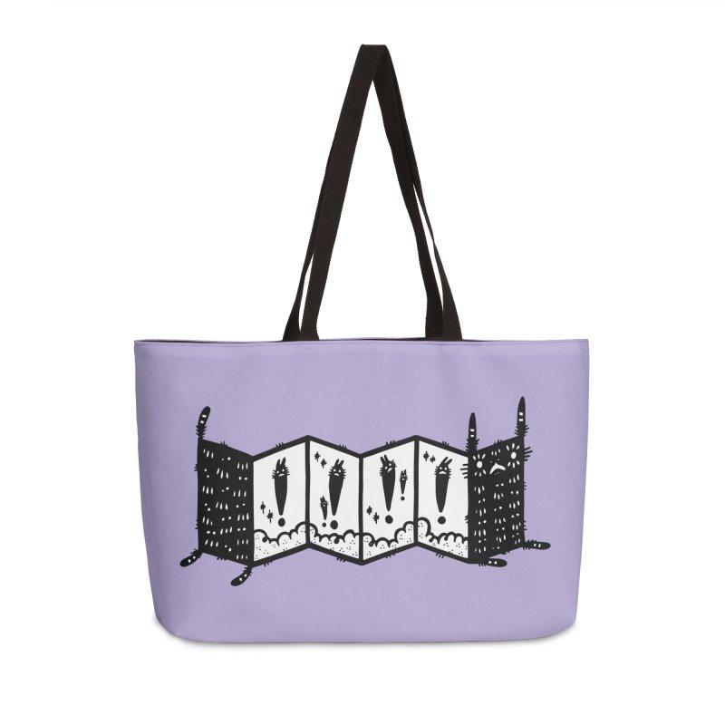 Accordion Zine Buddy Accessories Weekender Bag Bag by Haypeep's Artist Shop