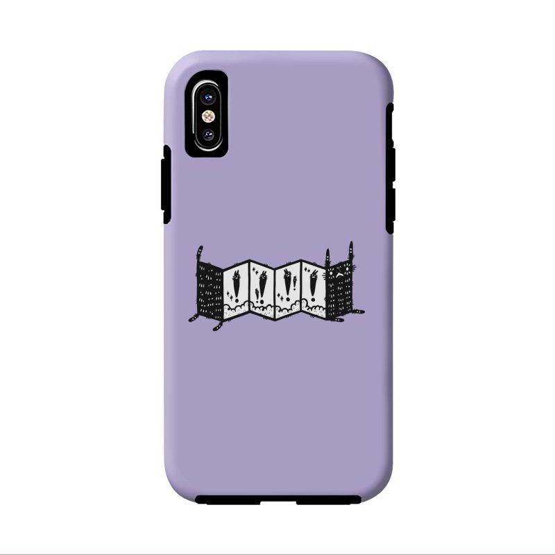 Accordion Zine Buddy Accessories Phone Case by Haypeep's Artist Shop