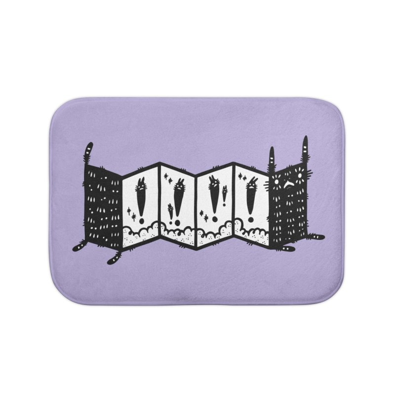 Accordion Zine Buddy Home Bath Mat by Haypeep's Artist Shop