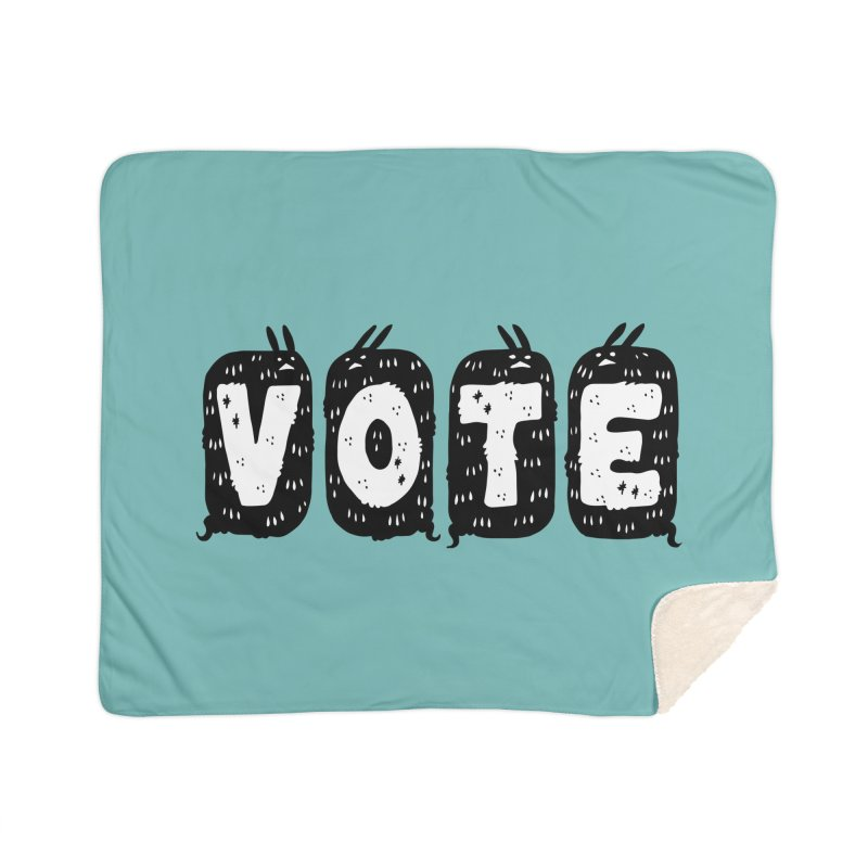 VOTE Home Sherpa Blanket Blanket by Haypeep's Artist Shop