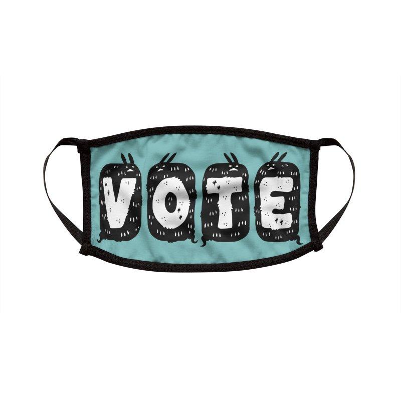 VOTE Accessories Face Mask by Haypeep's Artist Shop
