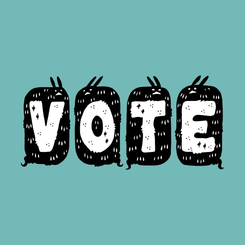 VOTE Kids Toddler T-Shirt by Haypeep's Artist Shop