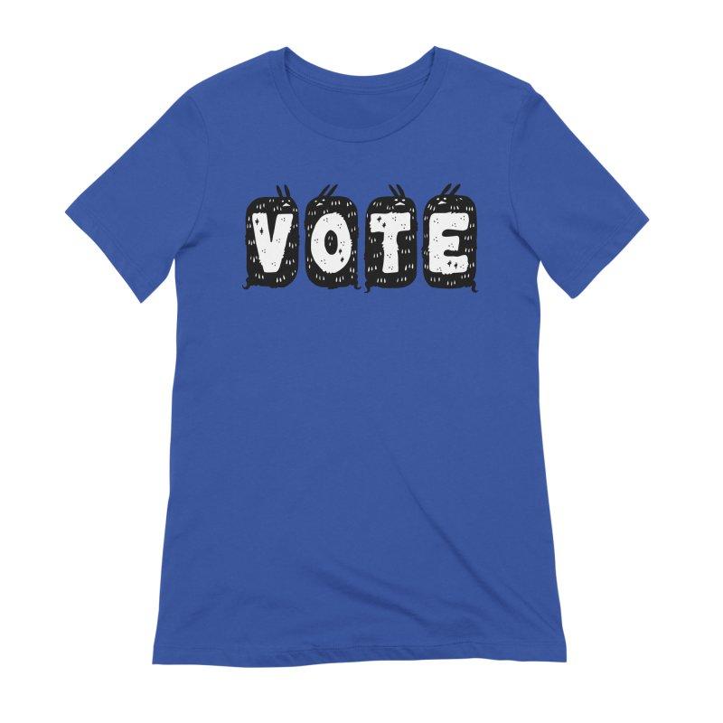 VOTE Women's Extra Soft T-Shirt by Haypeep's Artist Shop
