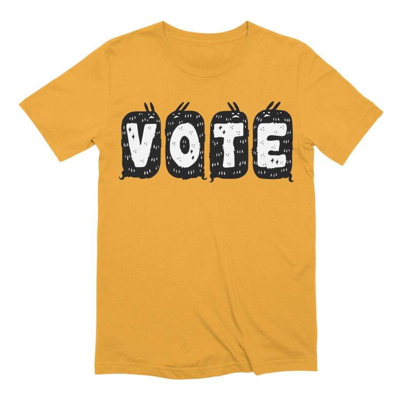 VOTE Men's Extra Soft T-Shirt by Haypeep's Artist Shop