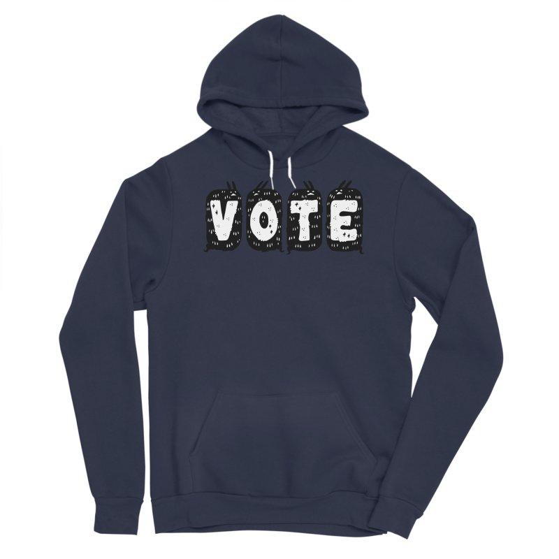 VOTE Men's Sponge Fleece Pullover Hoody by Haypeep's Artist Shop