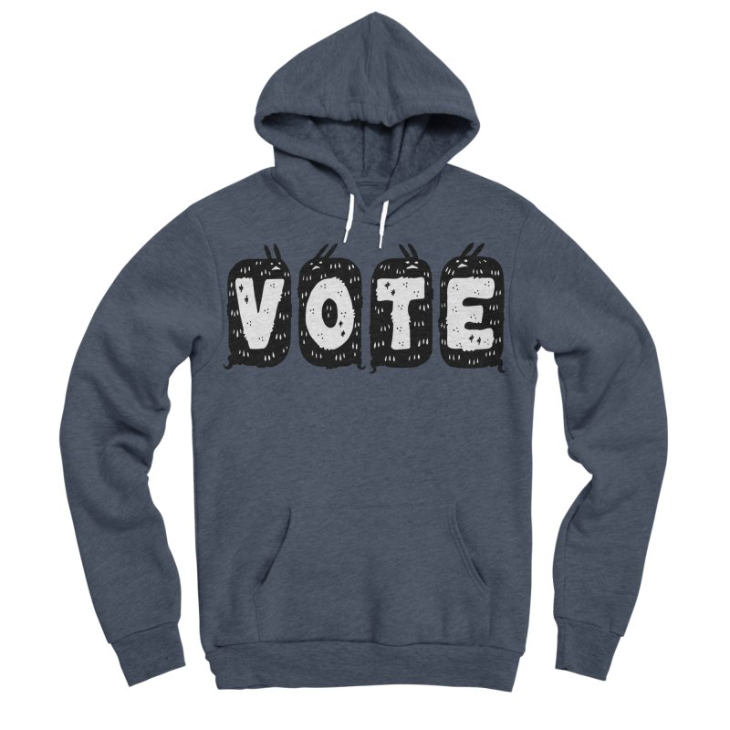 VOTE Men's Sponge Fleece Pullover Hoody by Haypeep's Artist Shop