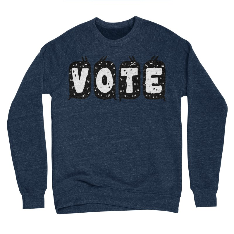 VOTE Men's Sponge Fleece Sweatshirt by Haypeep's Artist Shop