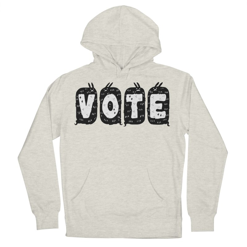 VOTE Women's French Terry Pullover Hoody by Haypeep's Artist Shop