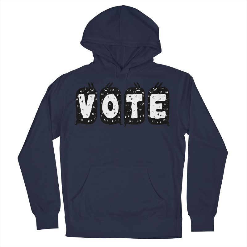 VOTE Men's French Terry Pullover Hoody by Haypeep's Artist Shop