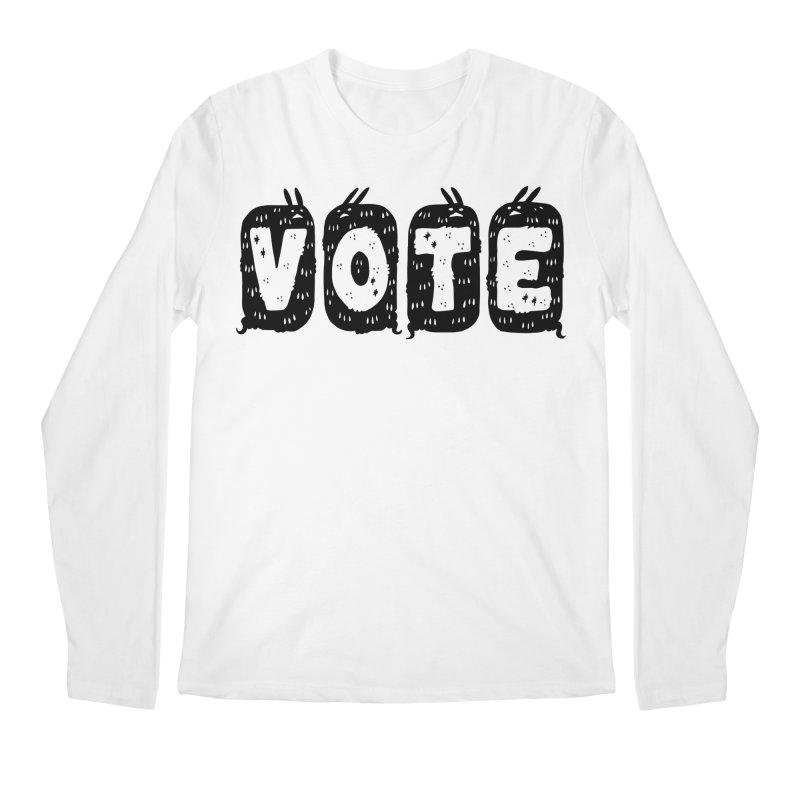 VOTE Men's Regular Longsleeve T-Shirt by Haypeep's Artist Shop
