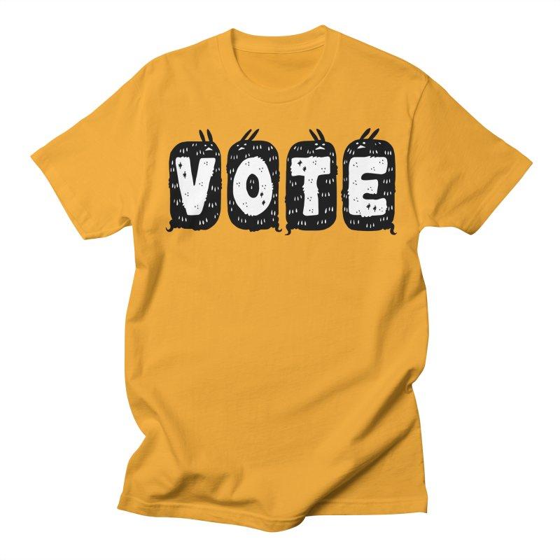 VOTE Men's Regular T-Shirt by Haypeep's Artist Shop