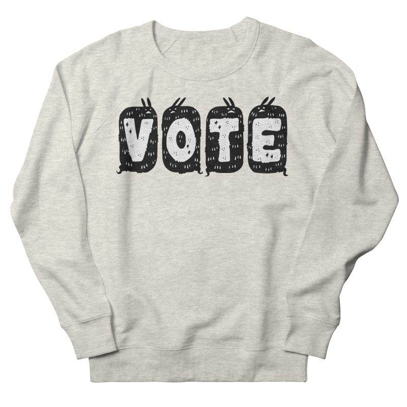 VOTE Men's French Terry Sweatshirt by Haypeep's Artist Shop