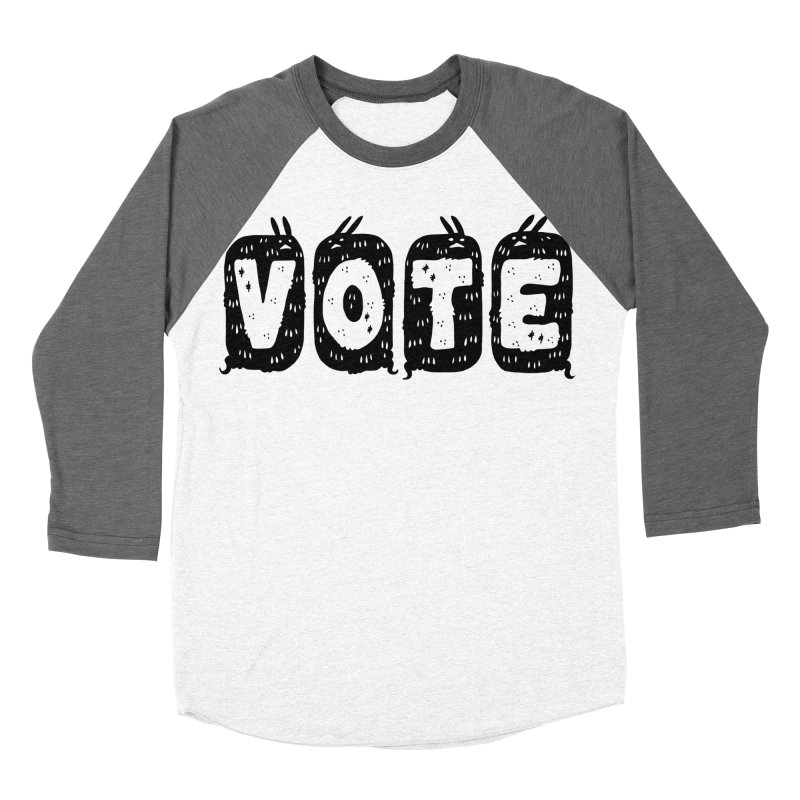 VOTE Men's Baseball Triblend Longsleeve T-Shirt by Haypeep's Artist Shop