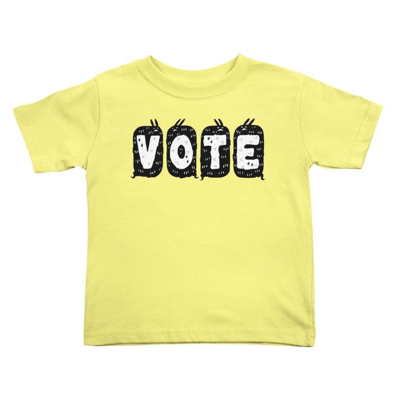 VOTE Kids Toddler T-Shirt by Haypeep's Artist Shop