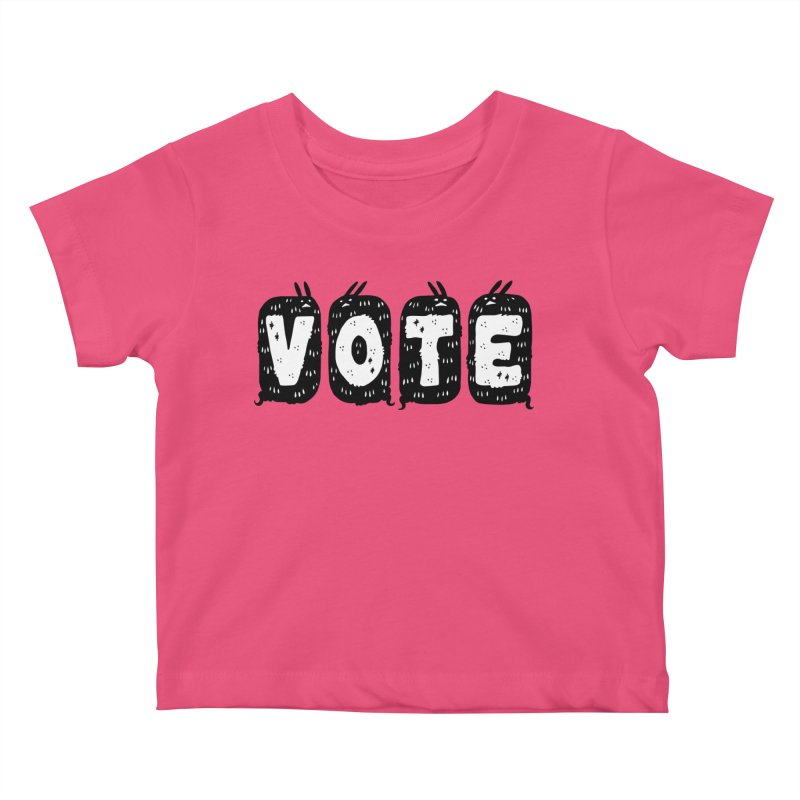 VOTE Kids Baby T-Shirt by Haypeep's Artist Shop