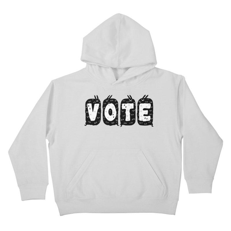 VOTE Kids Pullover Hoody by Haypeep's Artist Shop