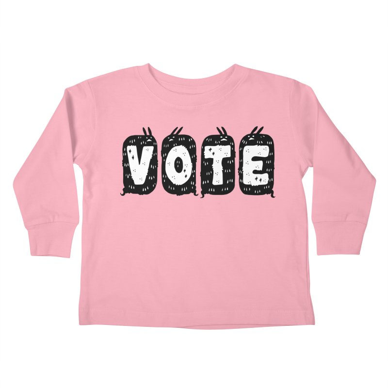 VOTE Kids Toddler Longsleeve T-Shirt by Haypeep's Artist Shop
